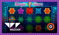 Wazdan présente le jeu de casino Magic Stars 6