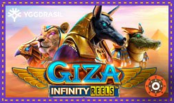 Yggdrasil Gaming offre le jeu de casino Giza Infinity Reels