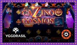 Yggdrasil Gaming présente le jeu de casino Cazino Cosmos